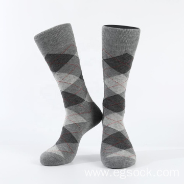 Business modal dress socks for men-grey 6