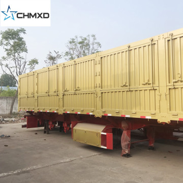 3 Axle 60 Tons Cargo Trailer