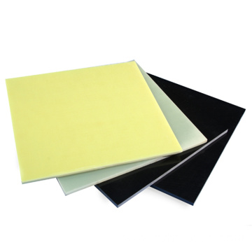 Black/Yellow/Green Insulating FR4 Epoxy Laminated Plate