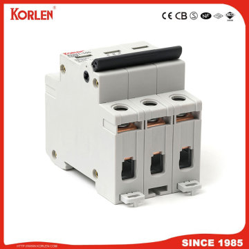 DIN Rail Isolator switch KORLEN KNH1 125A 4p