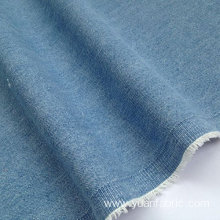 Washed Denim Fabric 100% Cotton Light Blue
