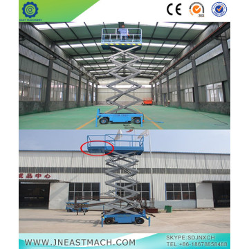 0.5t 7m Height Mobile Scissor Lift