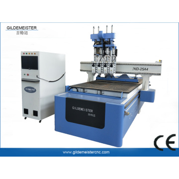 ATC CNC Router Machine 4 Spindles