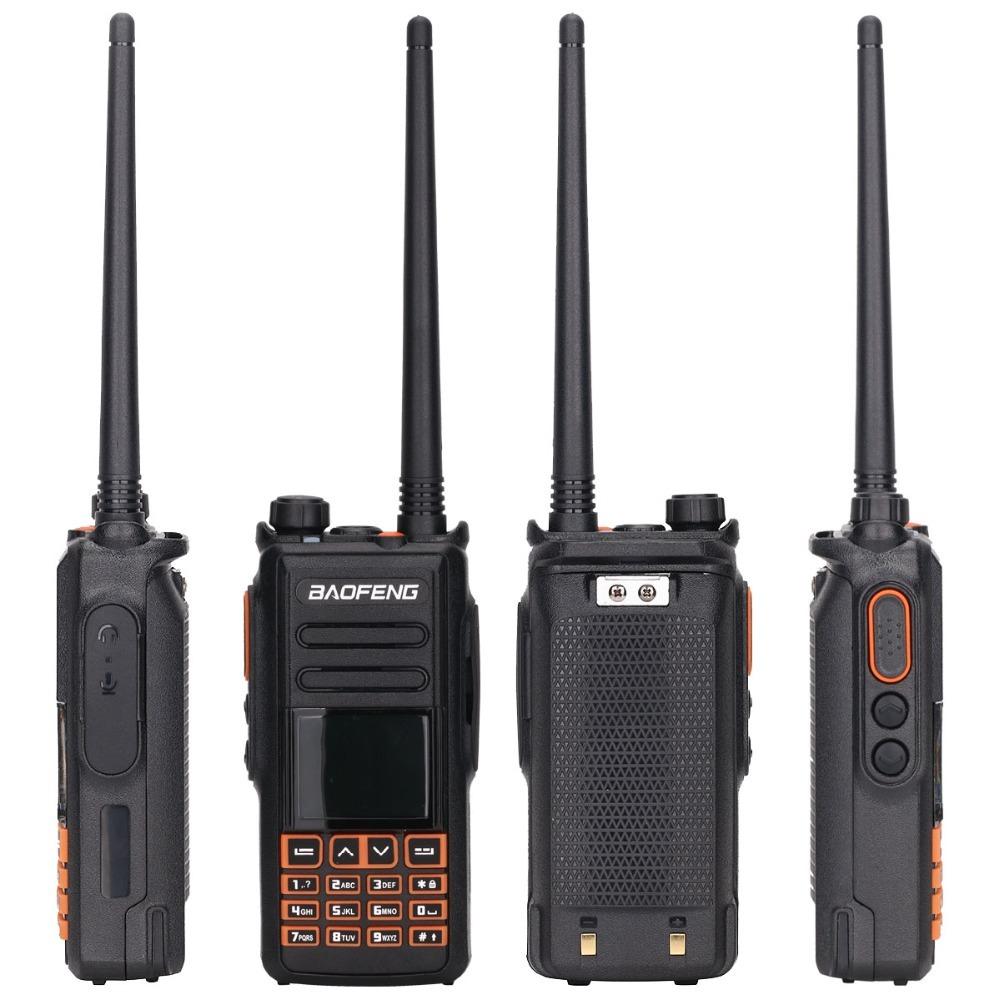 Baofeng DM-X GPS Record Tier 1&2 tier II Dual Time Slot DMR Digital/Analog Walkie Talkie Portable Radio Upgrade of DM-1702