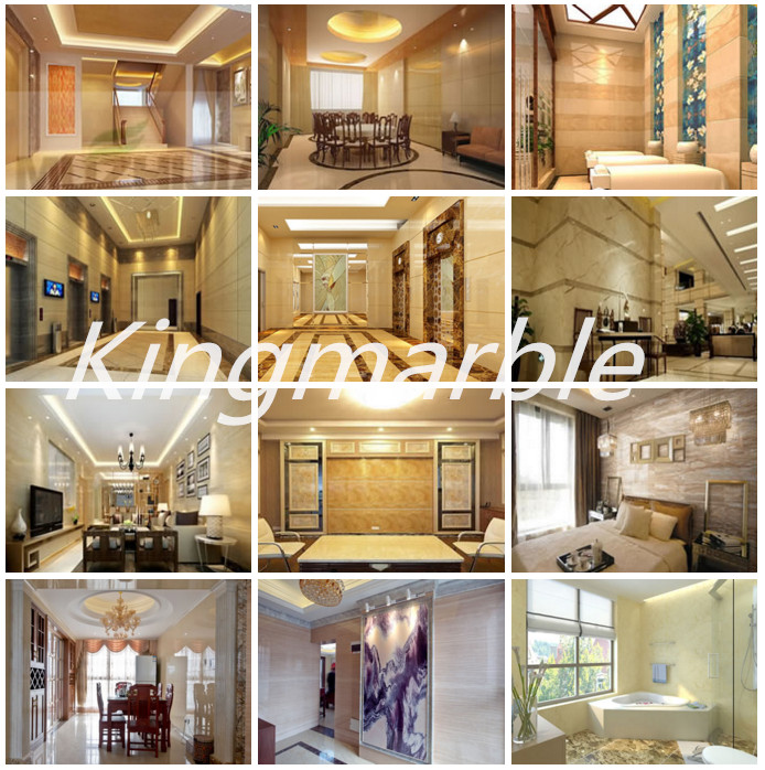 pvc 3D marble texture board for wall decoration