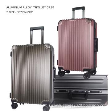 3 PCS personal Aluminum frame suitcase  luggage