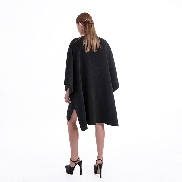 Cashmere cardigan coat