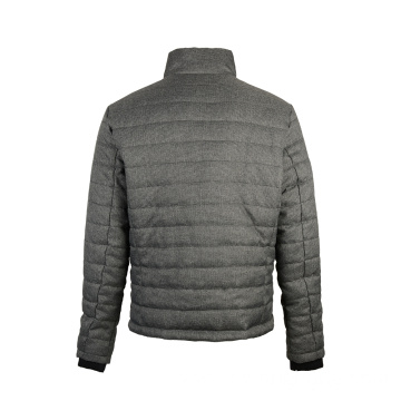 Men's Slim Fit Waterproof Padded Classic Jacket