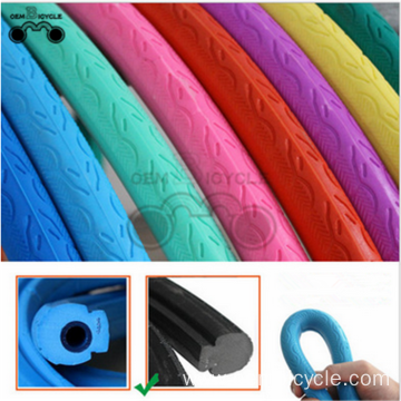 colored fixed gear bike tires solid noninflatable  tire