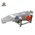 High yield stainless steel  linear vibrating screen