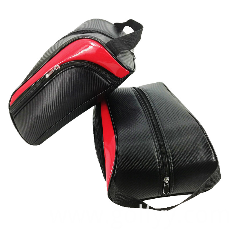 Pu Golf Shoe Bag