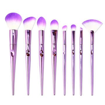 8 I-PCS Synthetic Cosmetics Makeup Brushes