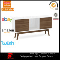 55 Inch Thin Flat Solid Legs TV Stand