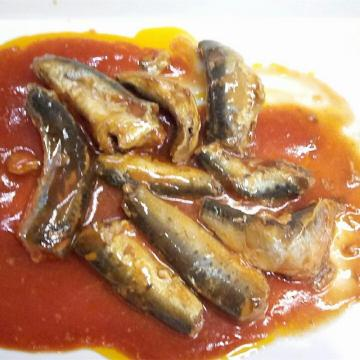 Canned Sardine Fish in Tomato with Chili 155g
