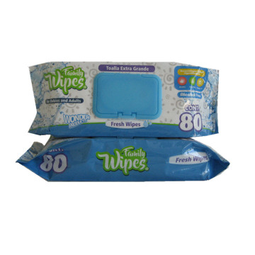 Innovative Economic Baby Tissue Wet Wipes