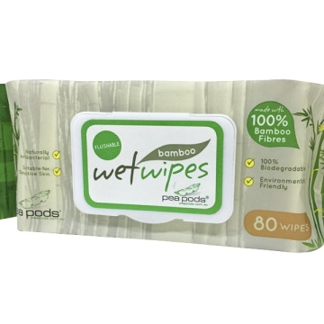 Biodegradable Bamboo Cloth Wipes Organic Baby Wipes