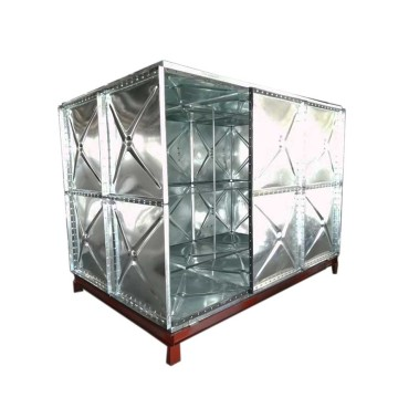 Hot Galvanized Pressed Steel Sectional Water Storage Tank