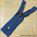 No.4 Metal YG Slider Brass Zipper for Jeans