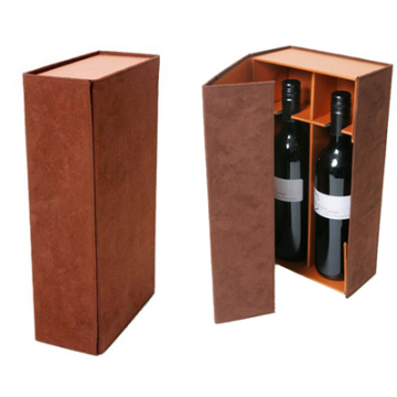 Custom Wine Bottle Boxes With Cardboard Dividers