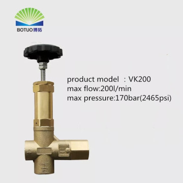 170bar brass vk200 regulator