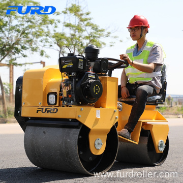 Most Popular 700 kg Vibration Road Roller with Hydrostatic Drive