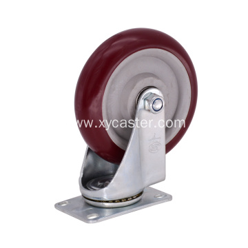 5 Inch swivel  PVC Caster Wheel