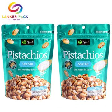 Food Grade Plastic Pouch Bag For Snack Packaging