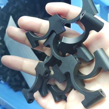 CNC Machining Custom Aluminum Clamp for camera