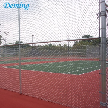 Hot Dip Galvanized Chain Link Fence Sport Field