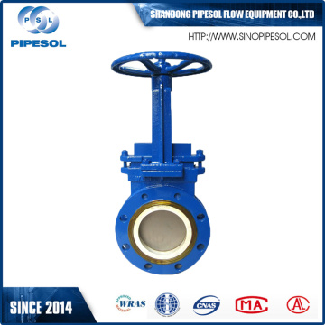 Flange type  knife valve