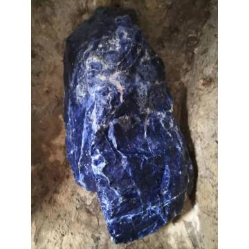 Blue sodalite small rough