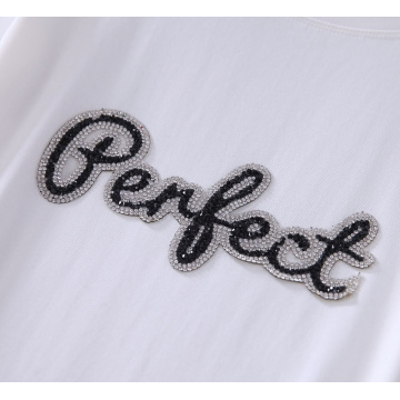 Perfect Cloth embroidery Patch Fashion Sequined
