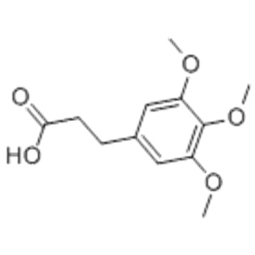 3- (3,4,5-TRIMETHOXYPHENYL) ACIDO PROPIONICO CAS 25173-72-2