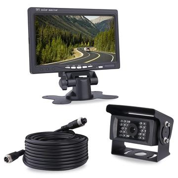 Vehicle Monitoring System 7Inch LCD Monitor with Camera