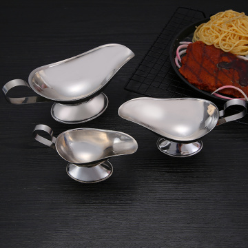 Stainless Steel Silver Royal Dipping Sauce Bowl