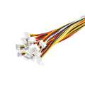 20PCS 150MM mini micro JST 1.25 4pin female plug connector with wire 1.25MM 4pin 4p cable