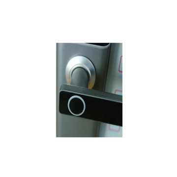 Sliding cover intelligent  lock
