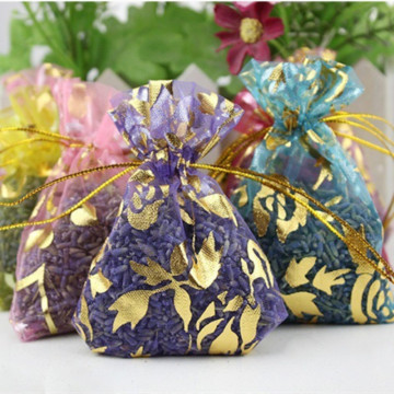 5 Bags 5g Natural Lavender Bud Dried Flower Sachet Bag Aromatherapy Aromatic Air Refresh Scent Fragrance Car Home Office Decor