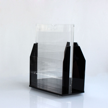 Wholesale High Quality Acrylic Flyer Holder Stand