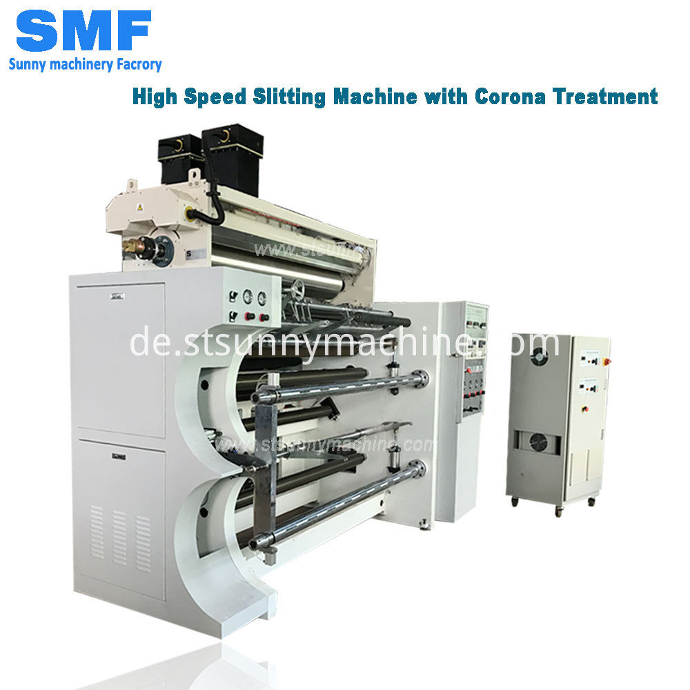 Slitting Machine With Corona 06