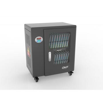 20 USB port black charging cart in Classroom