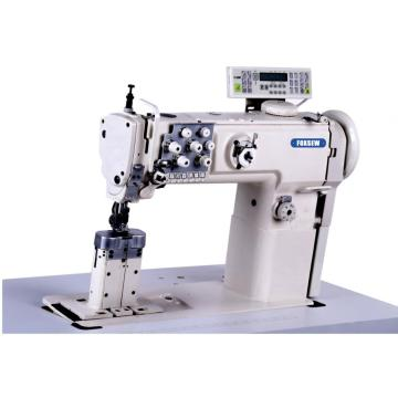 Post Bed Double Needle Compound Feed Sofa Sewing Machine