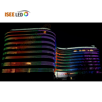 Colorful Digi RGB Led Bar Building Outline Lighting