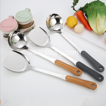 Newness Stainless Steel Soup Ladle Spatula
