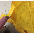 Waterproof PVC Rain Coat Hooded Rain Jacket