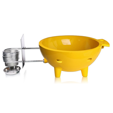 Waltmal Outdoor Hot Tub in Yellow