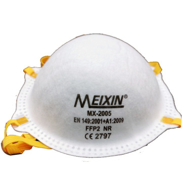 Disposable FFP2 FFP3 filter respirator face mask