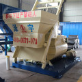 New design twin shaft 1 yard concrete mixer