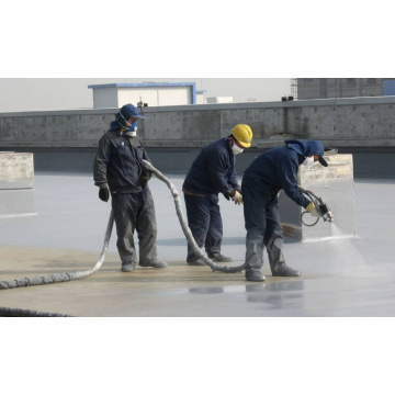 All Weather Spraying Polyurea SPUA-90 AB Courts Sports Surface Flooring Athletic Running Track