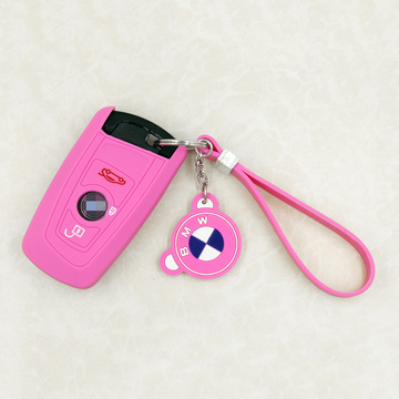 Factory Wholesale Colorful Silicone Car Key Cover